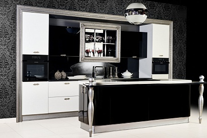 Смеситель Kuppersberg GEO KG 2385 CR BLACK METALLIC preview 2